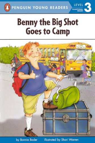 9780613640190: Benny The Big Shot Goes To Camp (Turtleback School & Library Binding Edition) (All Aboard Math Reader: Level 2)