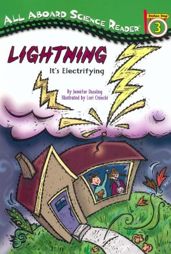 9780613644143: Lightning: It's Electrifying (Turtleback School & Library Binding Edition) (All Aboard Science Reader: Station Stop 3)