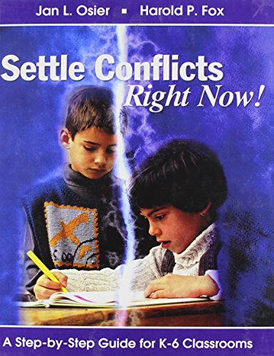 9780613650588: Settle Conflicts Right Now!