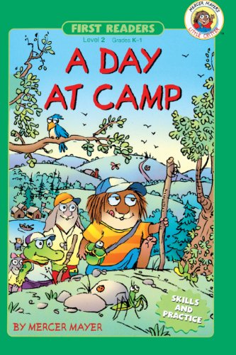 9780613676083: A Day At Camp (Turtleback School & Library Binding Edition) (First Readers: Level 2)