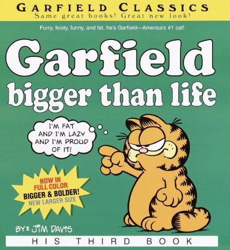 9780613685795: Garfield, Bigger Than Life (Turtleback School & Library Binding Edition) (Garfield Classics (Pb))