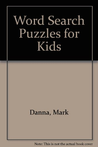 9780613755733: Word Search Puzzles for Kids