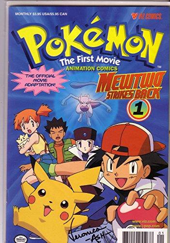 Pokemon: The First Movie Animation Comics: Mewtwo Strikes Back (Viz Graphic Novel) (0613790391) by Shudo, Takeshi; Sonoda, Hideki; Shudo, Takashi