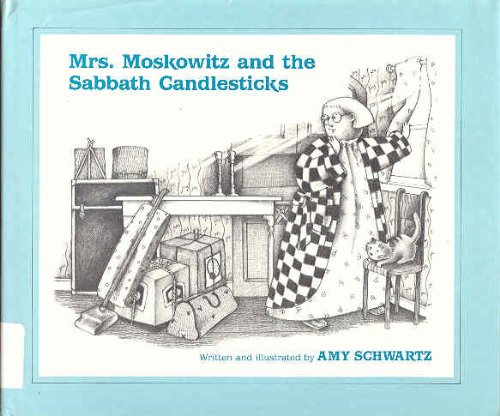 9780613834292: Mrs. Moskowitz and the Sabbath Candlesticks