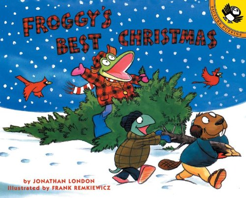 Froggy's Best Christmas (0613835573) by Jonathan London