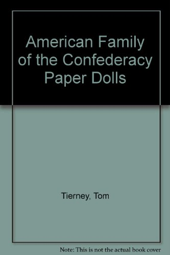 9780613849166: American Family of the Confederacy Paper Dolls