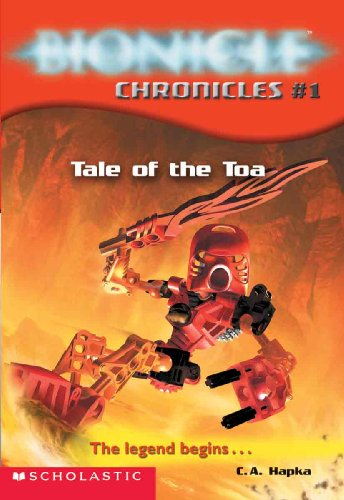 Tale Of The Toa (Turtleback School & Library Binding Edition) (Bionicle Chronicles) (061385392X) by Cathy Hapka