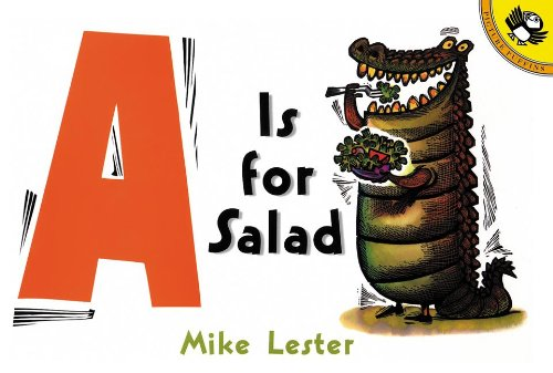 9780613856676: A Is For Salad (Turtleback School & Library Binding Edition)