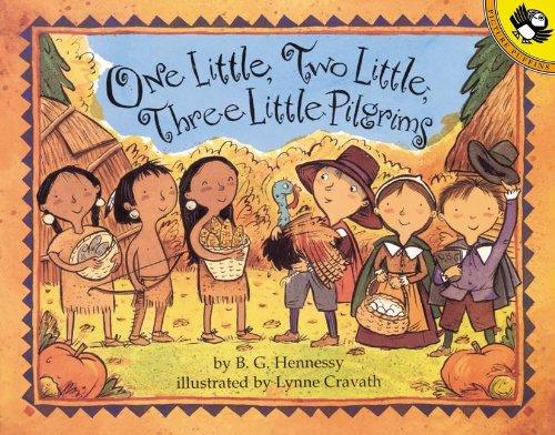 One Little, Two Little, Three Little Pilgrims (Turtleback School & Library Binding Edition): B....