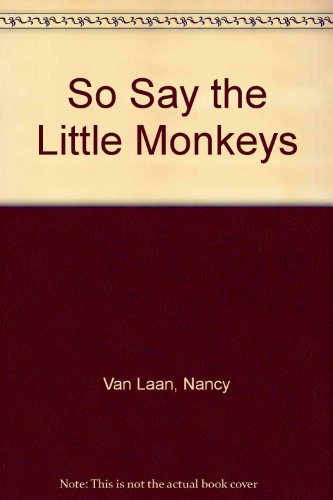 9780613907989: So Say the Little Monkeys