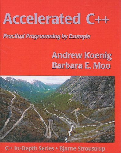 9780613920469: Accelerated C++: Practical Programming By Example