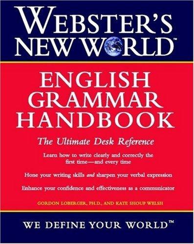 9780613925433: Webster's New World English Grammar Handbook
