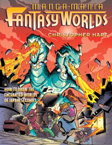 9780613926072: Manga Mania Fantasy Worlds: How To Draw The Enchanted Worlds Of Japanese Comics (Turtleback School & Library Binding Edition)