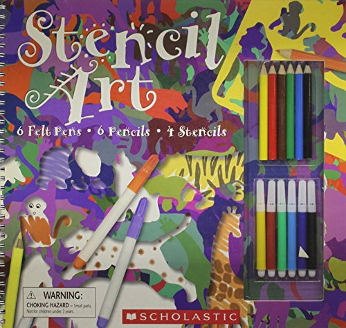 9780613927789: Stencil Art with Pens/Pencils and Stencils