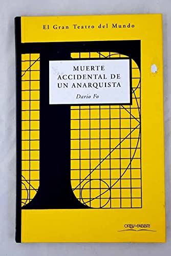 9780613931892: Muerte accidental de un anarquista