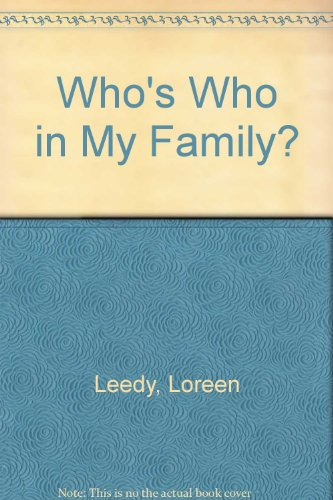 9780613939676: Who's Who in My Family?