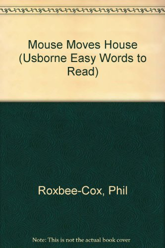 9780613958158: Mouse Moves House (Usborne Easy Words to Read)