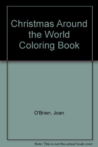 9780613958769: Christmas Around the World Coloring Book