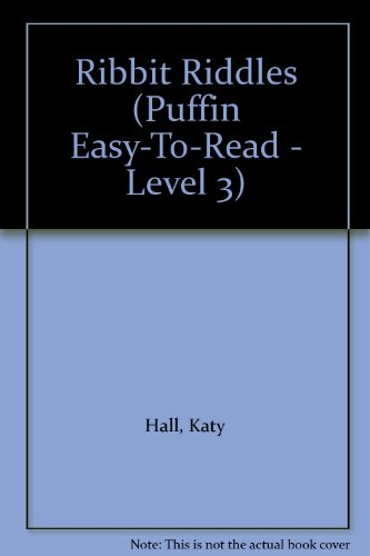 9780613961639: Ribbit Riddles (Puffin Easy-To-Read - Level 3)