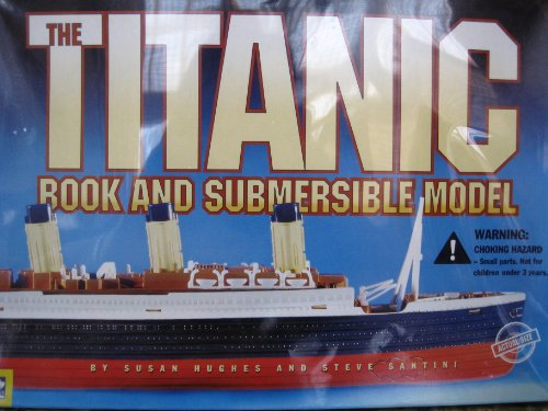 9780613971218: Titanic Book and Submersible Model with Toy