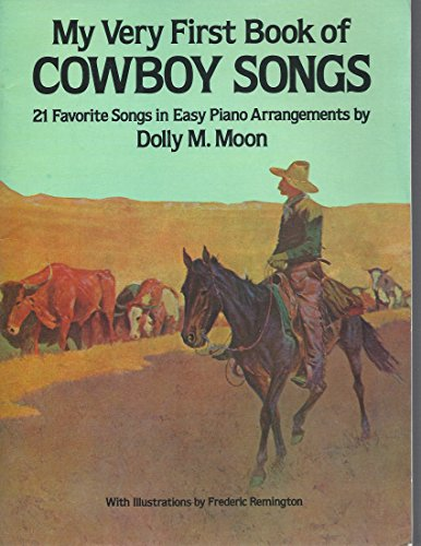 9780613986458: My First Book of Cowboy Songs