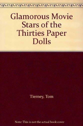 9780613995023: Glamorous Movie Stars of the Thirties Paper Dolls