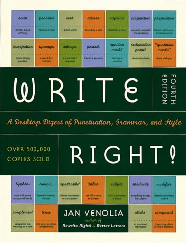 9780613998406: Write Right! Fourth Edition (Turtleback School & Library Binding Edition)