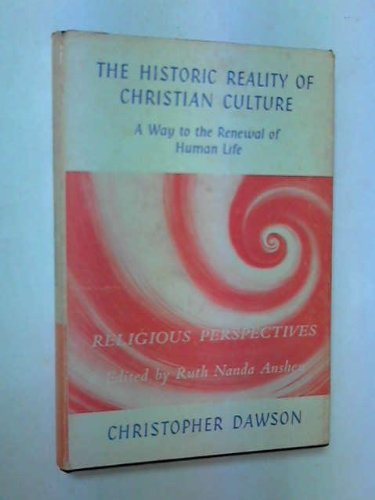 9780614000566: Historic Reality of Christian Culture: A Way to the Renewal of Human Life