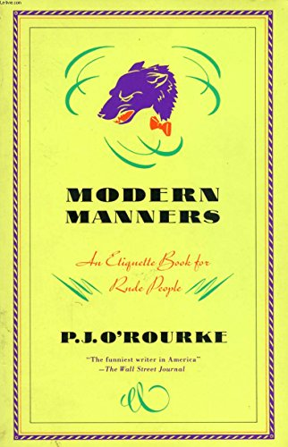 9780614037869: MODERN MANNERS: An Etiquette Book for Rude People