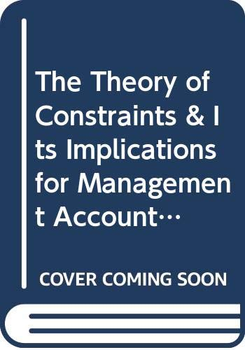 9780614064841: The Theory of Constraints & Its Implications for Management Accounting