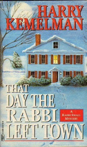 9780614277418: That Day the Rabbi Left Town
