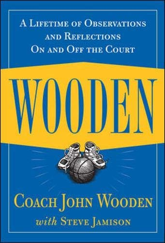 9780614281743: Wooden: A Lifetime of Observations and Reflections On and Off the Court