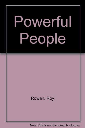 9780614956931: Powerful People