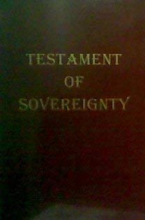 9780615116105: Testament of Sovereignty