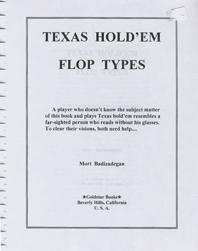 9780615117324: Texas Hold'em Flop Types