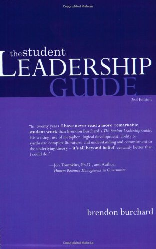 9780615120799: The Student Leadership Guide
