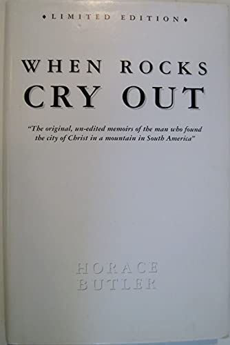 9780615122922: When Rocks Cry Out
