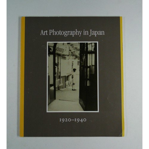 9780615122977: Art Photography in Japan. 1920-1940. 2003. Paper.