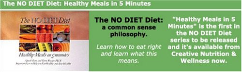 9780615124377: The No Diet Diet: Healthy Meals in 5 Minutes