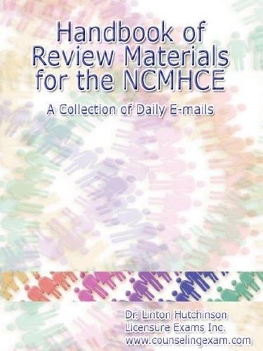 9780615137049: Handbook of Review Materials for the NCMHCE - A Collection of Daily E-mails