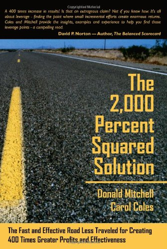 9780615142760: The 2,000 Percent Squared Solution