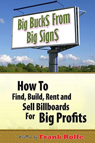 9780615169057: Big Bucks From Big Signs