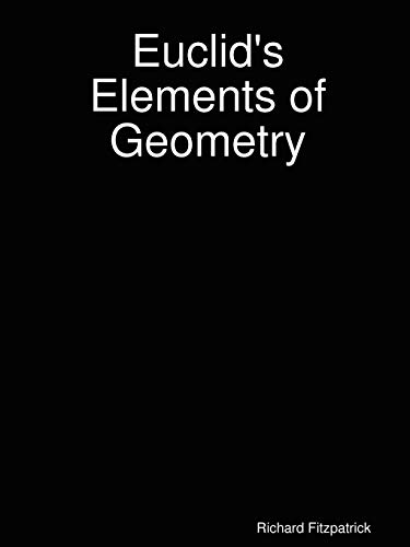 9780615179841: Euclid's Elements of Geometry