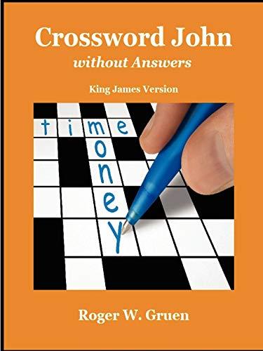 Crossword John Without Answers: Roger Gruen