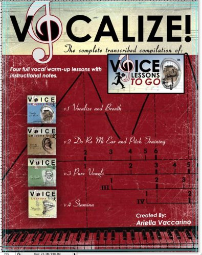 9780615209333: Voice Lessons To Go's -Vocalize!