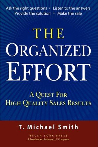 9780615214757: The Organized Effort