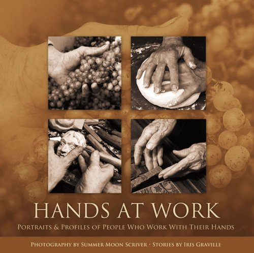 Hands at work : portraits and profiles: Scriver, Summer Moon
