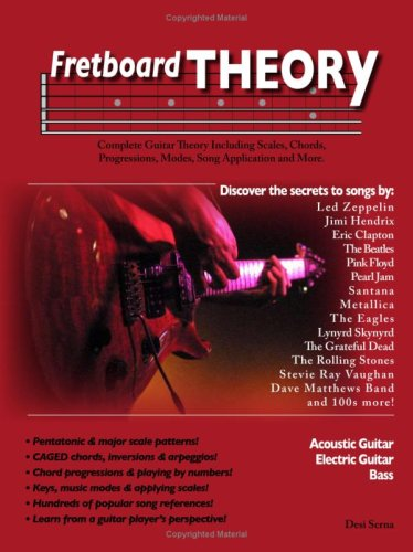 9780615226224: Fretboard Theory - Guitar Scales, Chords, Progressions, Modes, and More