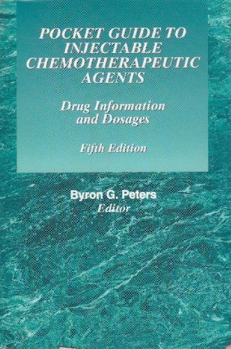 9780615231051: Pocket Guide to Injectable Chemotherapeutic Agents (5th Edition)
