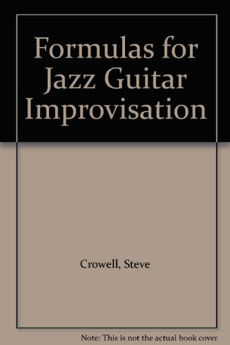 9780615233963: Formulas for Jazz Guitar Improvisation